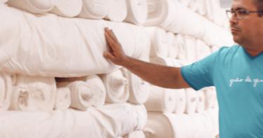 Tecido 100% algodão